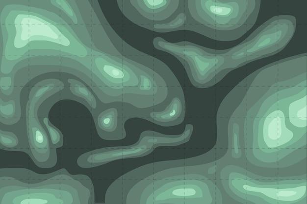 Фон топографической карты