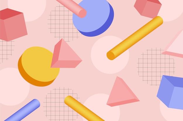 抽象的な幾何学的図形の背景