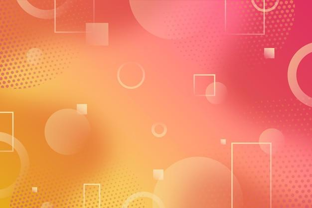 Абстрактные формы изложил фон полутонов