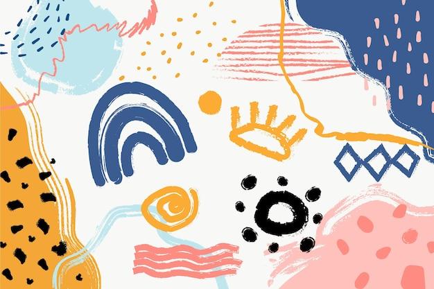 Абстрактная концепция пастельных фоне