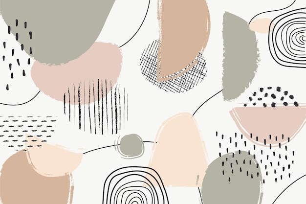 抽象的なパステル背景コンセプト