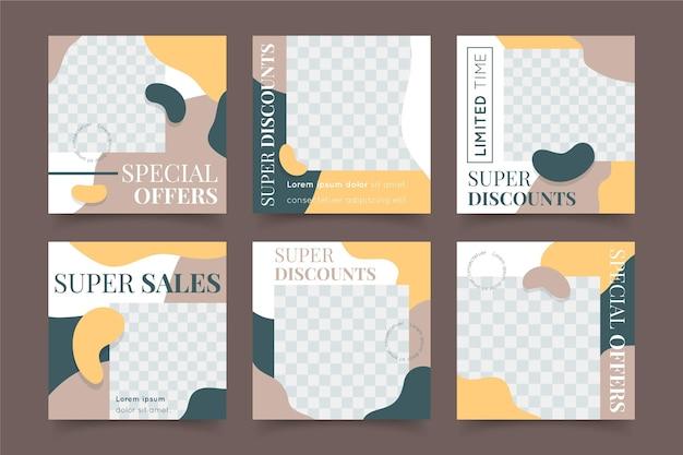 Органическая продажа инстаграм пост коллекция