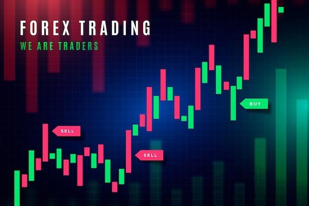 外国為替取引の壁紙