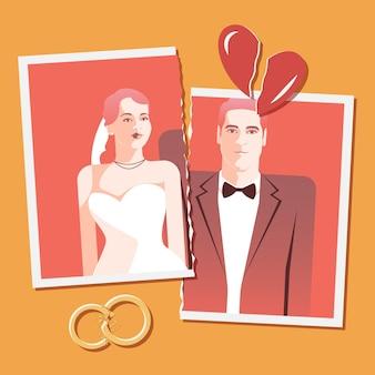 離婚の概念図