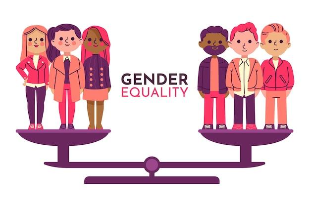 ジェンダー平等のコンセプト