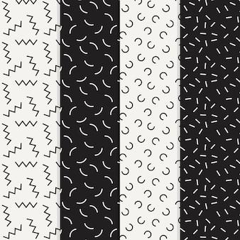 Коллекция шаблонов геометрического дизайна