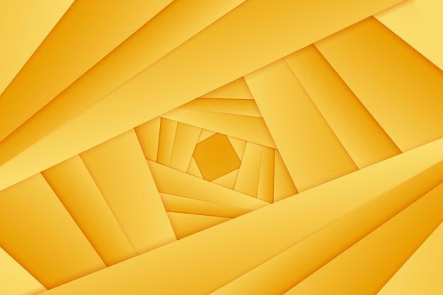 抽象的な線とゴールドの背景