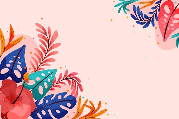 Красочный летний фон для увеличения