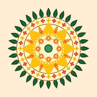 オナム花飾りのコンセプト