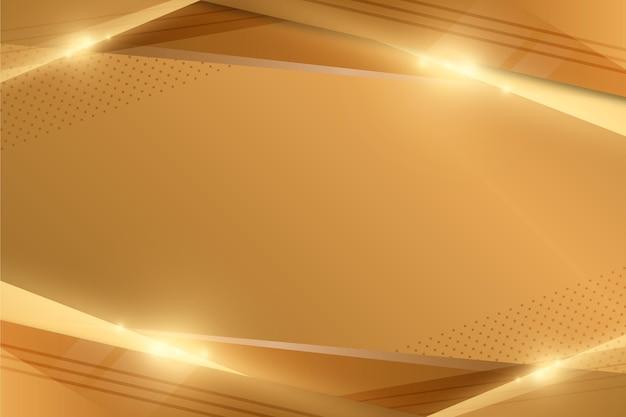 ゴールドの豪華な壁紙