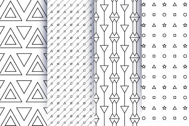 最小限の幾何学模様