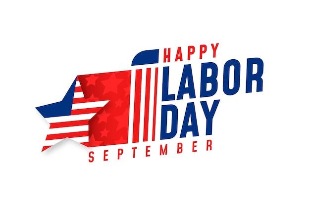 労働者の日のお祝いデザイン