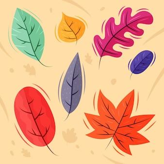 手描き紅葉コレクション
