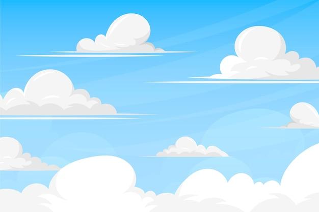 Небесный фон для видеоконференции