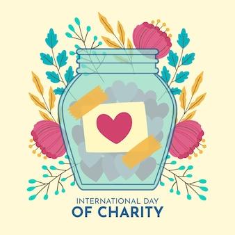手描きの国際慈善の日