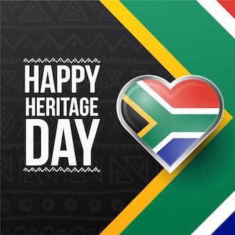 現実的な遺産の日南アフリカ
