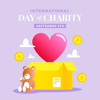 Международный день благотворительности с сердцем