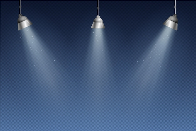Точечные светильники обои