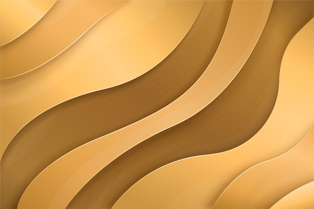 Золотые роскошные обои