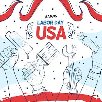 ツールハッピーアメリカ労働者の日