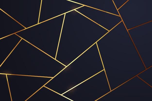 Золотая роскошь фона концепции