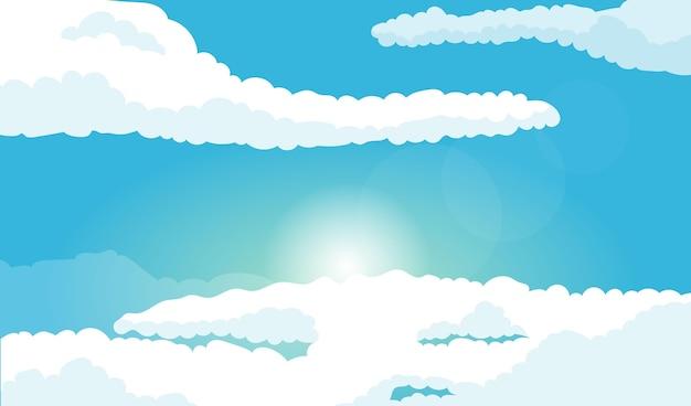 空-ビデオ会議の背景