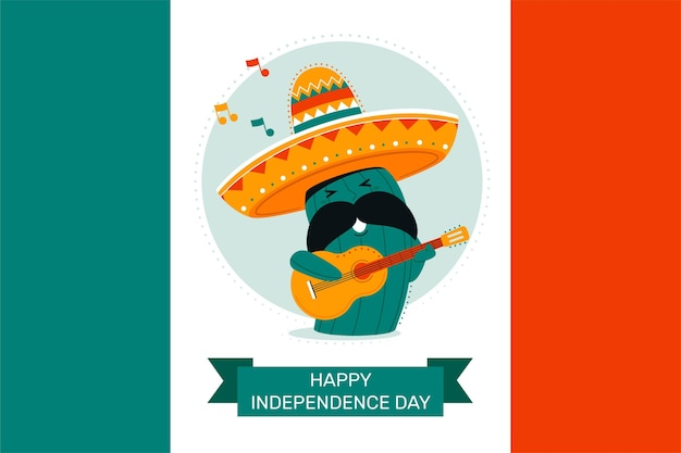 メキシコ独立記念日のバナー