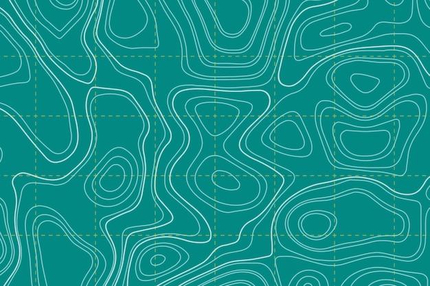 地形図の壁紙