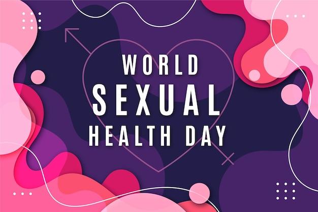 世界の性の健康の日のデザイン