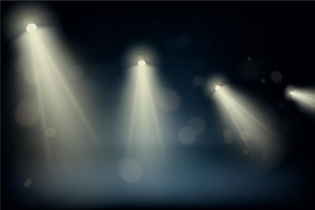 Точечный свет фоновой темы