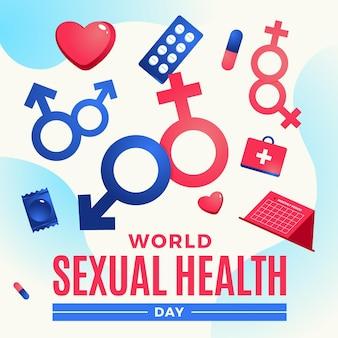 世界性的健康デーイベント