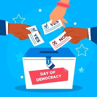 投票を伴う国際民主主義の日