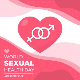世界の性の健康の日のお祝い