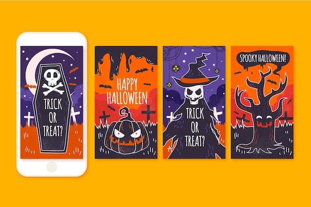 Хэллоуин инстаграм истории