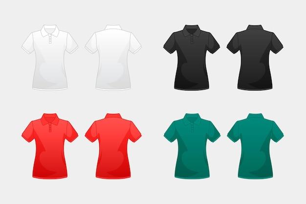 色のポロシャツのコレクション