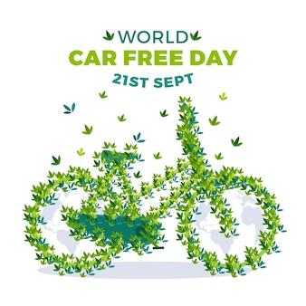Плоский мир без автомобиля