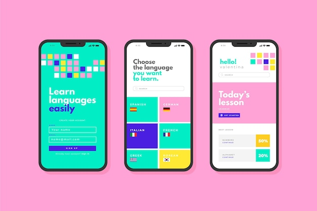 Приложение для изучения языков