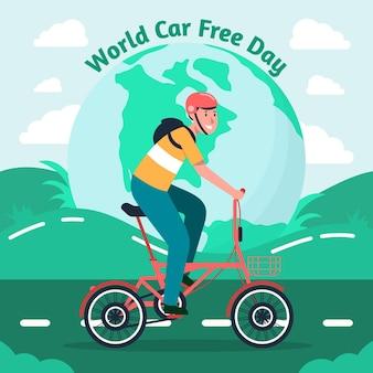 Всемирный автомобильный день без иллюстрации