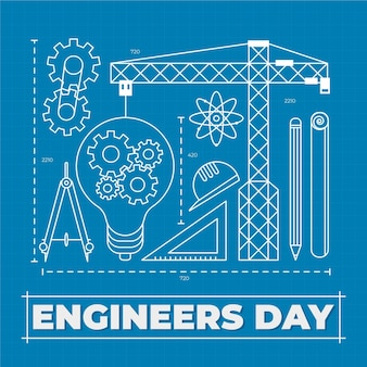 エンジニアの日のコンセプト
