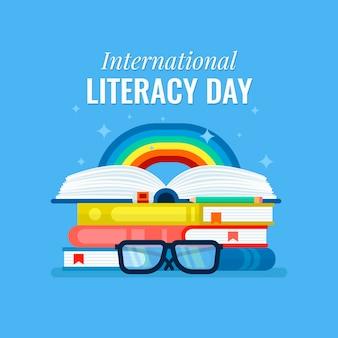フラットな国際識字デー