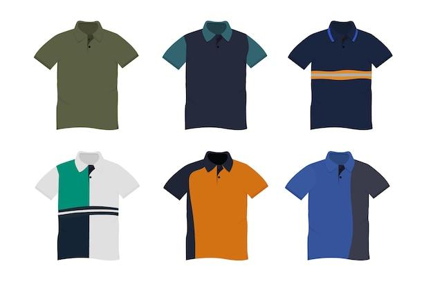 Коллекция рубашек поло