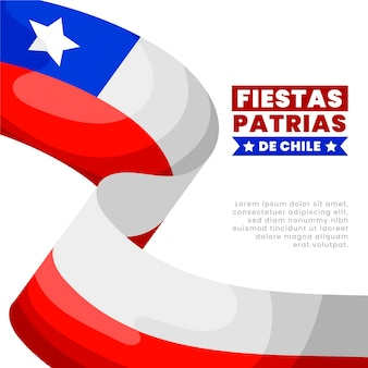 チリ建国記念日のコンセプト