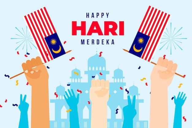 マレーシアの日のコンセプト