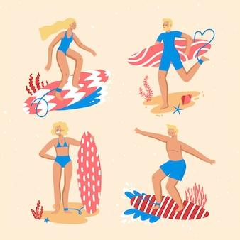 Летняя спортивная концепция