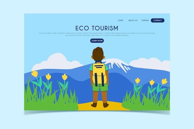 Целевая страница экологического туризма