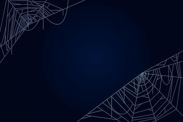 ハロウィーンのクモの巣の壁紙