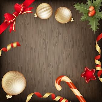 Рамка для рождественских украшений