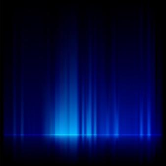 Синий фантастический фон.