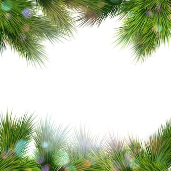 Рождественский ретро фон.