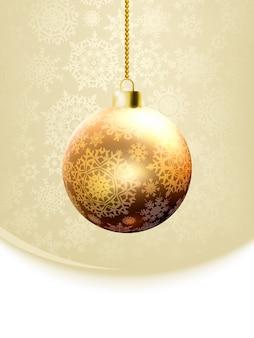 Рождественская открытка шаблон.
